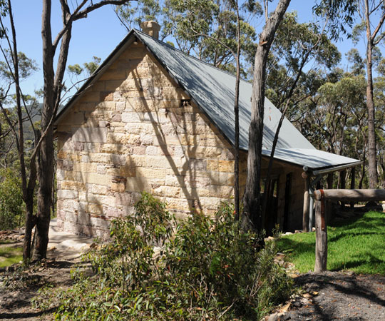 Premium self-contained wilderness accommodation in the northern blue mountains
